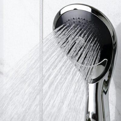 シャワーヘッド【ボリーナニンファシルバーメッキ仕様TK-7100-SL】