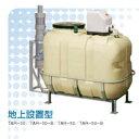 川本ポンプ製雨水タンク(雨水貯留槽)カワ太郎 地上設置タイプ350リットル【架台つき】 ポンプ出力タイプ(N3-N形-130W)※メーカー直送のため代引発送を承ることができません。