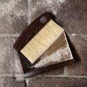 ハースブラシセット(サーモウッド)/ちりとり ほうき セット/掃除道具/おしゃれ/かわいい/掃除/北欧道具