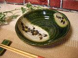 瀬戸織部花模様 煮物鉢