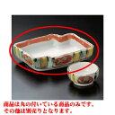 刺身 十草赤丸紋刺身鉢(大) [16.7 x 13 x 4.5cm] 料亭 旅館 和食器 飲食店 業務用