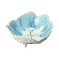 花重ね盛鉢 トルコ [ 20 x 18.5 x 9.5cm ] 【 盛鉢 】 | 料亭 旅館 和食器 飲食店 業務用