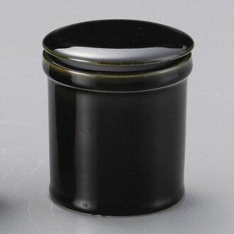 供龜編織管理密封罐(在包裝)[8.5 x 9.7cm 280]酒家旅館日式餐具飲食店業務使用