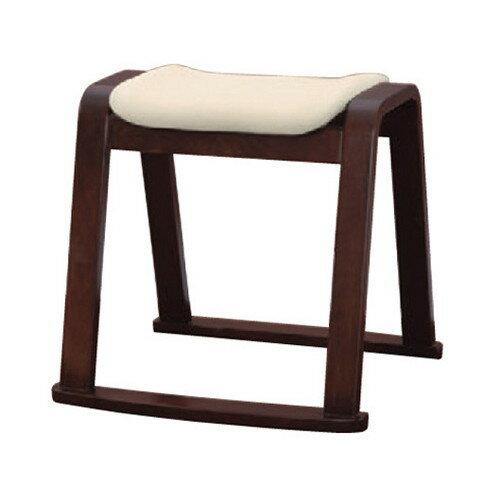 椅子 木製スツール アイボリー(布) [46 x 44 x H44cm] 木製品 (7-771-12) 【料亭 旅館 和食器 飲食店 業務用】 椅子 木製スツール アイボリー(布)  料亭 旅館 和食器 飲食店 業務用