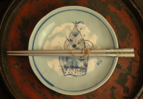 【バーゲン市場】竹の子5寸皿 【2011_野球_sale】