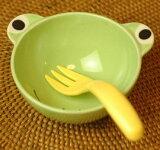 照顾好我的心,以促进儿童的餐具 - 碗 - (青蛙)[【子供用食器】お茶碗(カエル)]