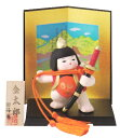 太刀もち金太郎(陶器/五月人形)