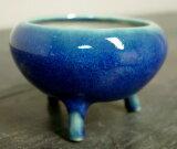 【植木鉢】2.5号コウロウ三つ足「生子」【和風植木鉢 ミニ盆栽鉢 陶器 磁器】