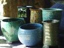 【植木鉢】3号懸崖「色釉」【和風植木鉢 ミニ盆栽鉢 陶器 磁器】