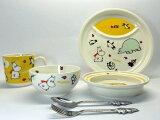 ムーミン 子供食器 6ピースセット