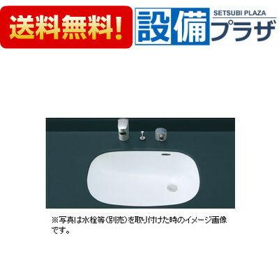 【全品送料無料!】[L-2297]♪INAX/LIXIL はめ込みだ円形洗面器(アンダーカウンター式)