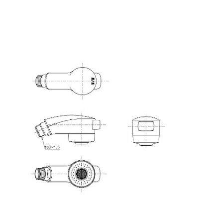 【全品送料無料!】■[TH589-1 #N11]TOTO シャワーヘッド部 TL384型用