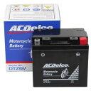 ACDelco ACデルコバイク用バッテリー液入充電済みDTZ6V主な互換品番:YTZ6V/FTZ6V地域限定(本州・四国・九州)送料無料