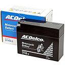 ACDelco ACデルコバイク用バッテリー液入充電済みDT4B-5主な互換品番:YT4B-BS/FT4B-5/RBT4B-5-N地域限定(本州 四国 九州)送料無料