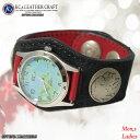 ケイシイズ KC,s ブレスレット 男女兼用 腕時計 象革