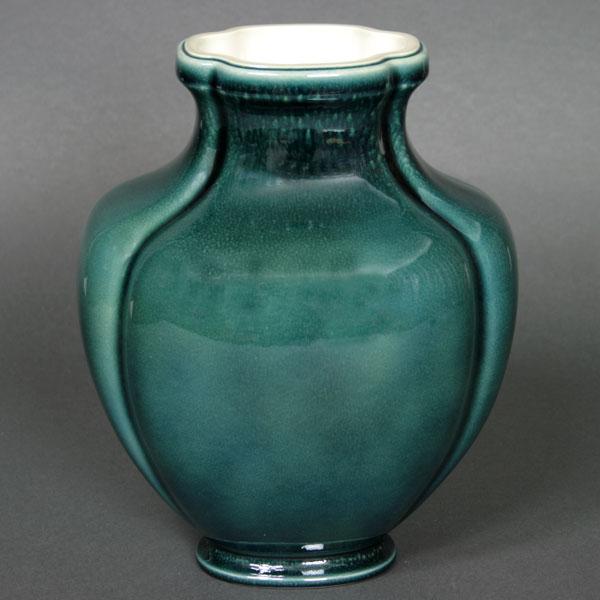 【幻の陶磁器と称されるフランスの国窯セーブル(SEVRES)】一点物花瓶デクール76(2)(MR625)陶磁器 直輸入販売