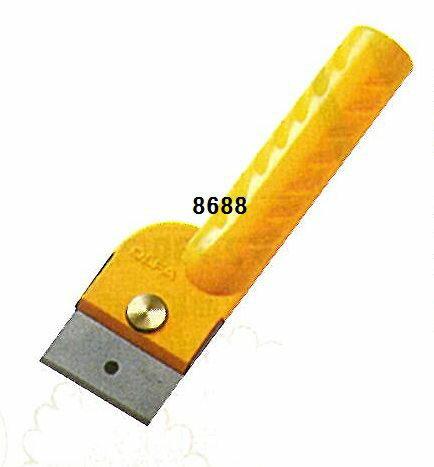 レザークラフト 入門用レザーナイフ「別たち」 43mm巾 8688 (ネコポス不可・ゆうパケット可)