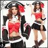 ハロウィン コスプレ 海賊 衣装 COSTUME コスチューム パイレーツ pirate サーカス ファンタジー ハロウィン 大人用 レディース 仮装衣装 dress ドレス こすぷれ コスプレ ゆうパケット不可