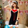 ブラックサンタ コスプレ クリスマス サンタ コスチューム レディース かわいい サンタコス セクシー ワンピース サンタ コスプレ サンタ コスチューム レディース かわいい セクシー ワンピース ハートクイーン
