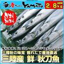 三陸産 鮮 秋刀魚 1尾140...