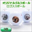 1セット用(9球)ロゴ入り・オリジナルプリントボール【プレゼ...