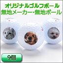 1セット用(9球)無地・無メーカー・オリジナルプリントボール...