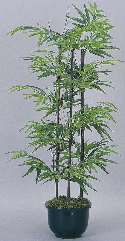 【直送】【送料無料】光の楽園 黒竹1.0m(幹:天然黒竹) 176A120 本物のような精巧な作りで人気の光触媒加工の人工観葉植物。オフィスやストア、開店・開業のお祝い、ギフト・ご贈答ギフトに!!