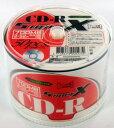 CD-R 52倍速 700MB 50枚★プリンタブル(インクジェット)対応【SUPER-X】SX CDR80WP50【PC家電_036P2】【PC家電_037P2】【PC家電_038P2】..