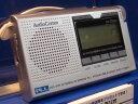 OHM電機★AM/FM PLLシンセサイザーラジオ「RAD-F202M」(07-2953)豊富な機能をコンパクトに収めたポケットラジオ!クロック&タイマー機能!見やすい大型バックライト液晶!スタンド付きで、置いてもOK!【RCP】02P01Feb14