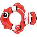 うきわ 浮き輪 フロート 子供 幼児 3〜5歳 クマノミウキワ 70×64cm ウキワ 水遊び 海水浴 旅行 夏休み 海 プール (i-RFJ-450)内 周が約70〜75センチのお子様用浮き輪!インパクトカラーが可愛い!【RCP】02P01Jun14【RCP】02P01Jun14