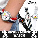 【送料無料】 腕時計 Disney ディズニー ミッキー マウス クォーツ ウォッチ NATOタイプストラップ ミッキーミリタリー腕時計 (fa-NFC1500...