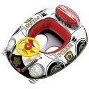 ベビーウキワ 浮き輪 ベビー 乳幼児 子供 用 ベビーボート ハンドル付 スーパーポリス MHR-4