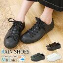 レインシューズ レディース スニーカー 長靴 靴 雨靴 ロー...
