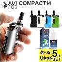 電子タバコ VAPE ベイプ スターターキット JUSTFOG Compact 14 ジャストフォグ コンパクト 14 プルームテックプラス 互換機 互換 プルームテックプラス ウィズ Ploom T