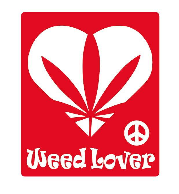 Weed Lover ステッカー 車 かっこいい...の商品画像