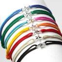 スウィング ブレスレット スター メンズ レディース コードブレス 星 SWING Tiny Star Code Bracelet Silver 7色展開