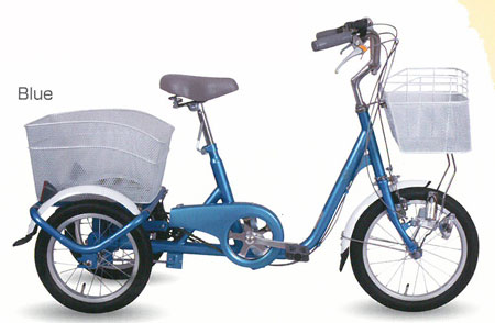 [スーパーセール期間中!ポイント10倍]SWING CHARLIE ロータイプ三輪自転車 MG-TRE16SW 送料無料ひと回り小さいロータイプはスイング機能付で小回り可能。