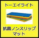 【受注生産品】【エコカラーマット】トーエイライト 抗菌エコノンスリップマット(90x180x5cm) T-2538