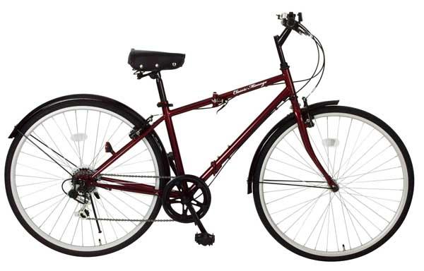 [スーパーセール期間中!ポイント10倍]【メーカー直送のためき】【折りたたみ自転車】Classic Mimugo FDB700c 6S 折畳みクロスバイク MG-CM700C 送料無料【折りたたみ自転車】