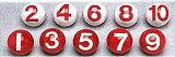 公認ボール(10個1セット)【ゲートボールボール】サンラッキー・ゲートボール 公認ボール(10個1セット) SG−916