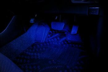 TOYOTA(トヨタ)LEXUS(レクサス)車マツダ/スバル車用インナーランプLEDイルミネーション足元灯(フットランプ)にホワイトレッドブルーピンク2個1セット(レビュー記載で送料無料)