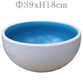 睡蓮鉢 SHA-26M(23M)【13号ボール型 メダカ 鉢 すいれん鉢 洋風】