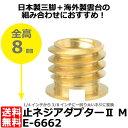 【メール便 送料無料】【即納】 エツミ E-6662 止ネジアダプターII M [カメラネジ変換アダプターM E-525後継品/ETSUMI]