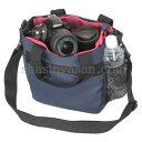 【送料無料】【あす楽対応】【即納】 エツミ CO-8704 コールマン カメラトートバッグ ネイビー [小型デジタル一眼レフ向けカメラバッグ+レンズ2本収納可能]