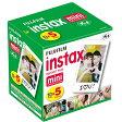 フジフイルム チェキ用インスタントカラーフィルム instax mini K R5 5パック(10枚入×5) 【販売終了】