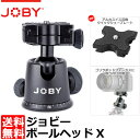 【送料無料】 ジョビー JOBY ボールヘッドX (BH2)[アルカスイス互換クイックシュープレート付 自由雲台]
