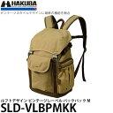 【送料無料】 ハクバ SLD-VLBPMKK ルフトデザイン ビンテージレーベル バックパック M カーキ [一眼レフ+交換レンズ1本+薄型13インチノートPC対応/カメラバッグ/SLDVLBPMKK/HAKUBA]