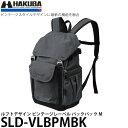 【送料無料】 ハクバ SLD-VLBPMBK ルフトデザイン ビンテージレーベル バックパック M ブラック [一眼レフ+交換レンズ1本+薄型13インチノートPC対応/カメラバッグ/SLDVLBPMBK/HAKUBA]