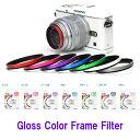 ケンコートキナー Gloss Color Frame Filter カラー枠プロテクトフィルター 37ミリ径