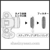 【メール便 送料無料】【即納】 マルミ光機 ステップダウンリング 67→55mm径フィルター用